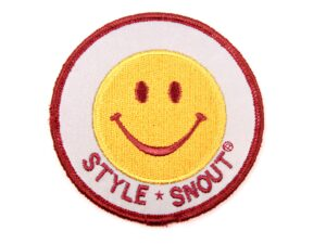 Sticker – Patch it! – Smiley, 6cm