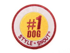 Sticker – Patch it! – #1DOG, 6cm