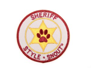 Sticker – Patch it! – Sheriff, 6cm