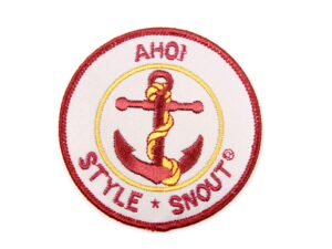 Sticker – Patch it! – Ahoi, 6cm