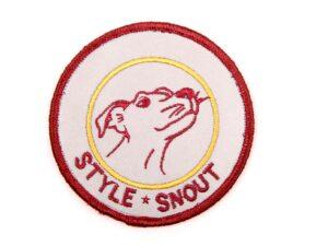 Sticker – Patch it! – StyleSnout, 6cm